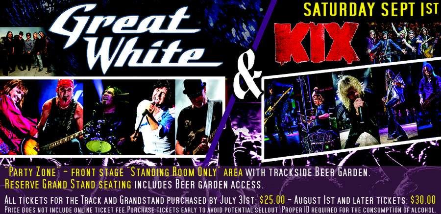 Great White & KIX - 9-1-18