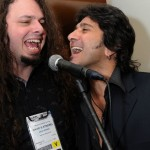 After NAMM Jam - Anaheim, Ca. - January 2011 - Terry Ilous & Dave Stremel of Grace's Period