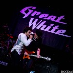 Terry Ilous of Great White - City National  Grove of Anaheim - Anaheim, CA. - May 31, 2013