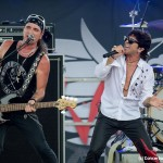 Great White - 'Hairapalooza' - Pinellas Park, Florida - July 5, 2014 - Terry Ilous & Scott Snyder