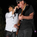 Great White - 'Rainbow 40th Anniversary' - Rainbow Bar & Grill - Hollywood, Ca. - April 13, 2014 - Terry Ilous & Mark Kendall