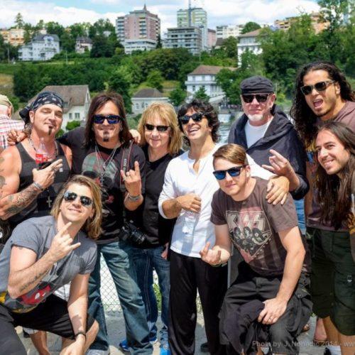 Rock Im Tal Festival Artists - Switzerland - June, 2014