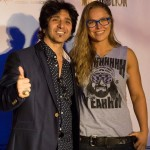 Charity Event w/ Terry Ilous & Ronda Rousey - Paladino's - Tarzana, CA. - November 2014