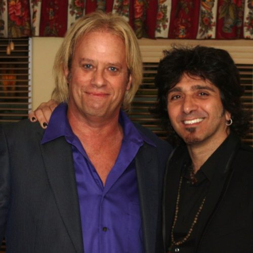 Bobby Blotzer of RATT and Terry Ilous of Great White & XYZ
