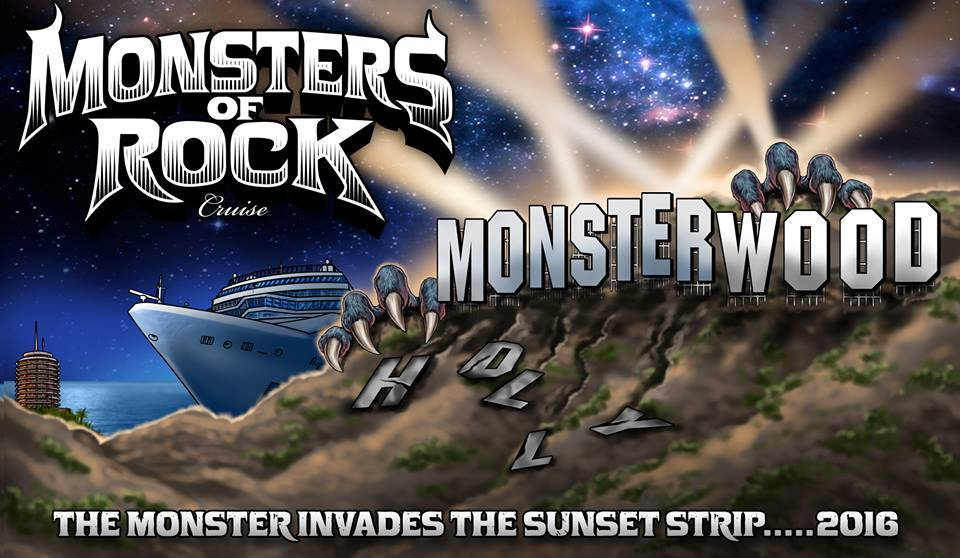 Monsters Of Rock Cruise West W Great White - West coast cruises
