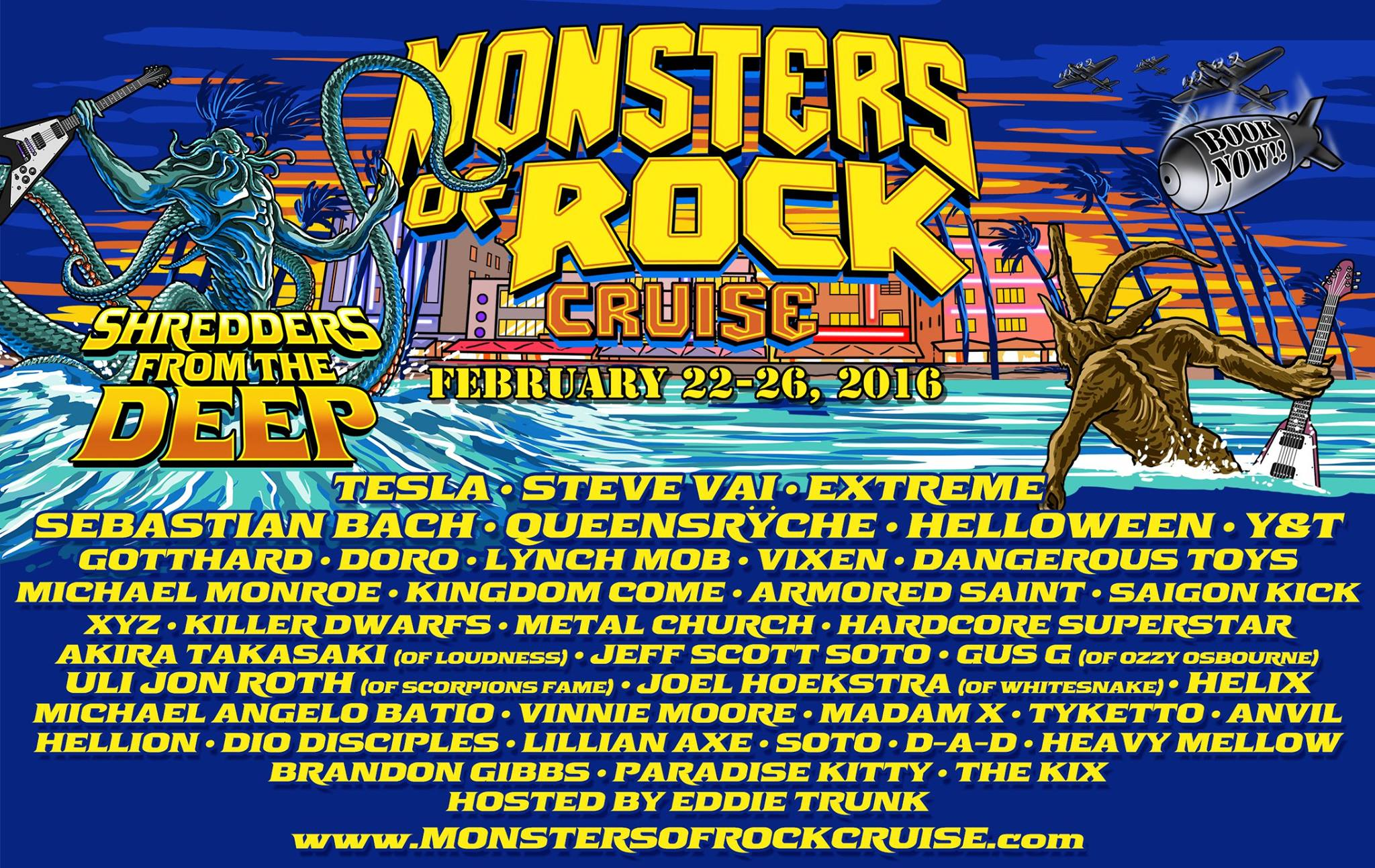 Monsters Of Rock Cruise East W Xyz Band Amp Great White Terry Ilous