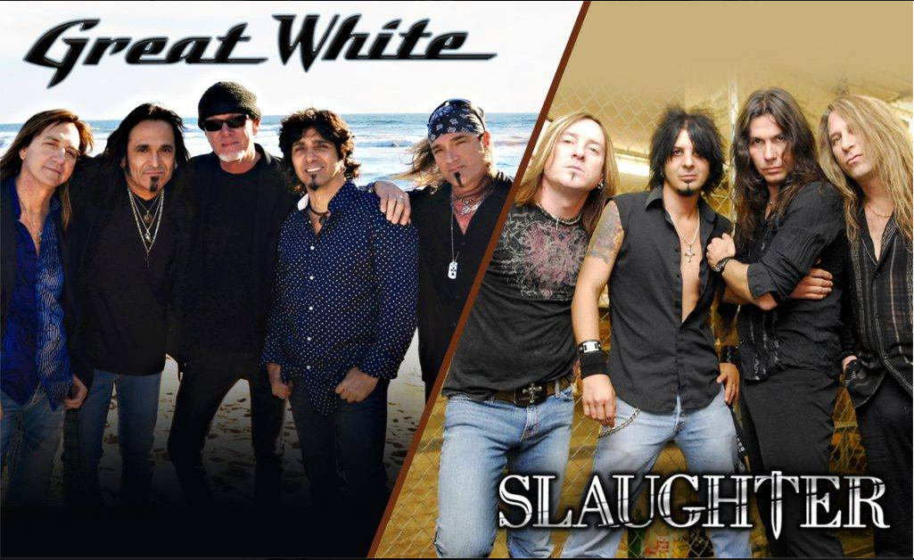 Great White and Slaughter
