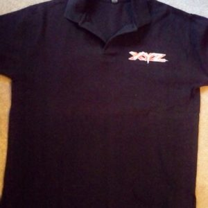 XYZ [Band] staff tour shirt 1990