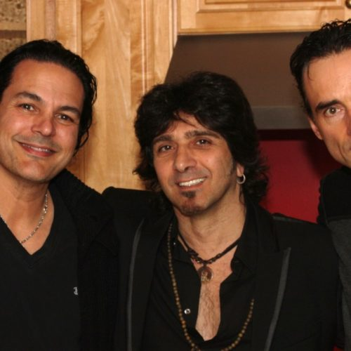 Fred Coury of Cinderella, Terry Ilous and Pat Fontaine of XYZ