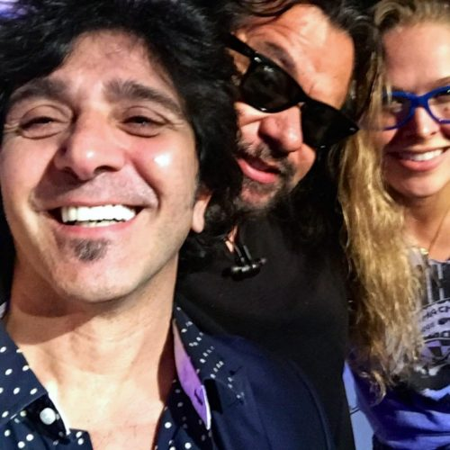 Terry Ilous, Ronda Rousey & Luis Villegas - Paladinos - Tarzana, Ca. - 2014